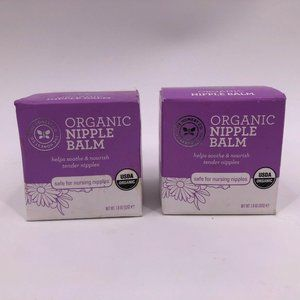 Honest Company USDA Organic Nipple Balm Two Pack